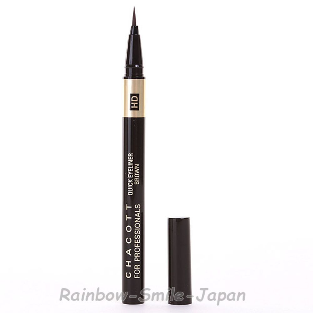 CHACOTT FOR PROFESSIONALS HD Quick Eyeliner Brown Makeup WP Multi proof JAPAN #chacott