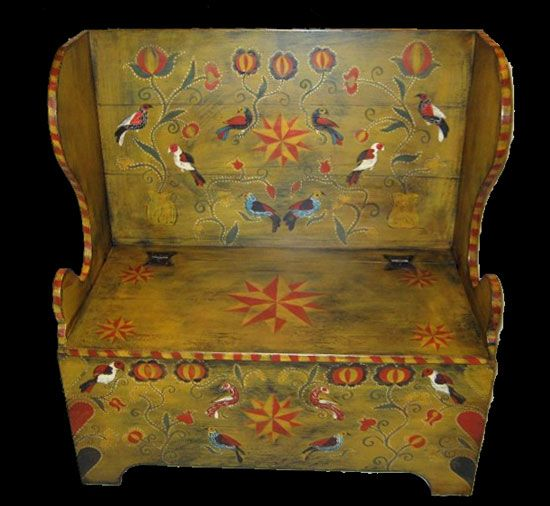 Country Furniture · Pennsylvania German Fraktur