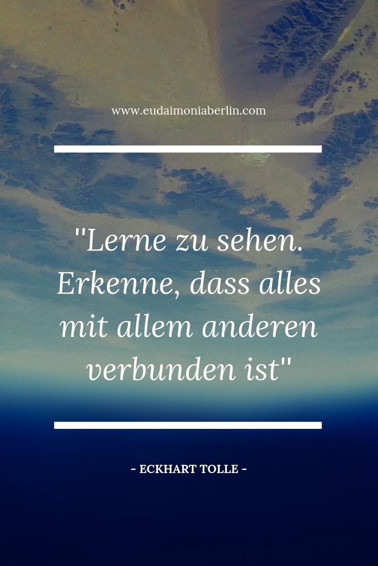 Spirituelle Sprüche Auf Deutsch Eckhart Tolle Zitat