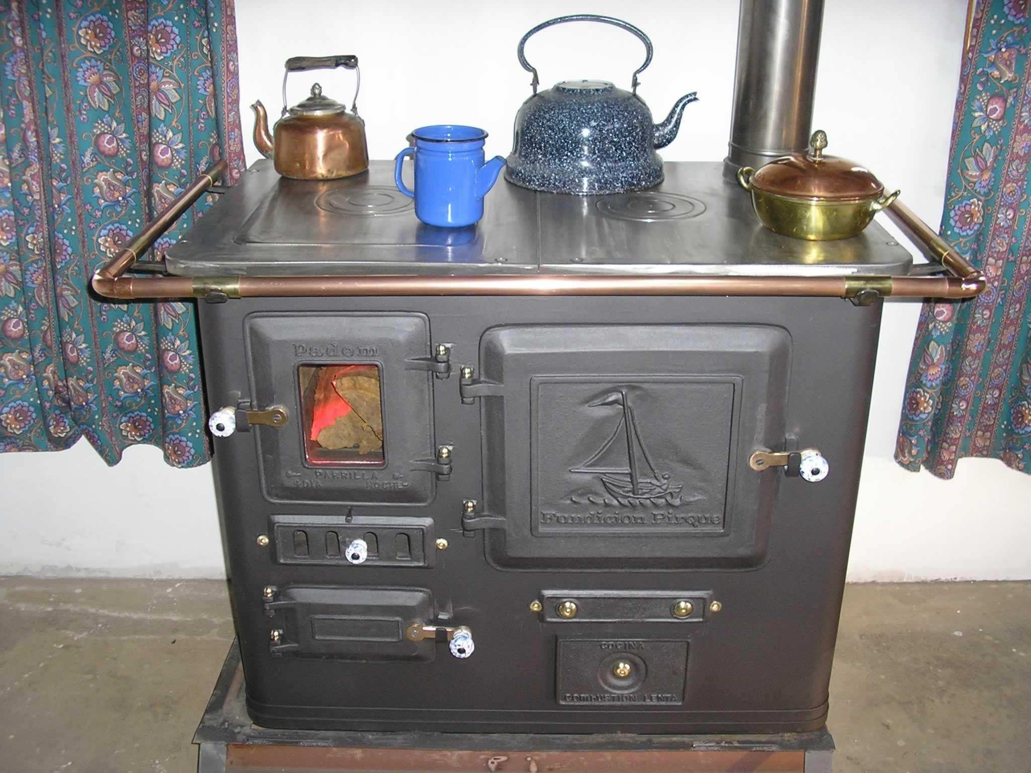 Fundicion Pirque Old Stove Wood Stove Stove Oven