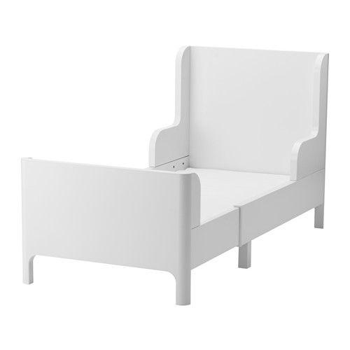 Växasäng BUSUNGE vit | Ikea | Lit, Lit extensible, Lit enfant ikea