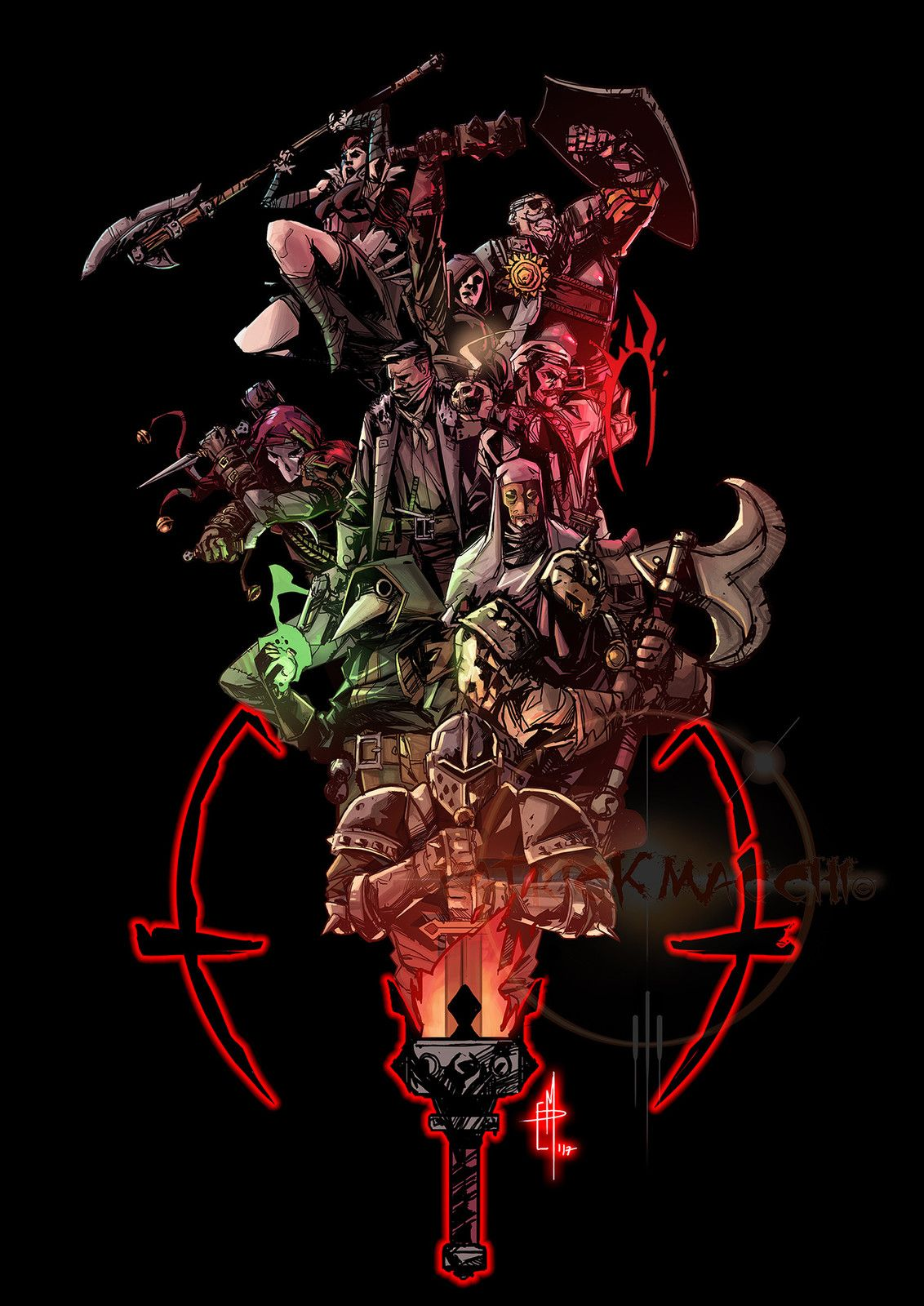 Darkest Dungeon Fanart Patrick Macchi On Artstation At Https Www Artstation Com Artwork G1aqq Darkest Dungeon Darkest Dungeon Art Darkest Dungeon Crusader