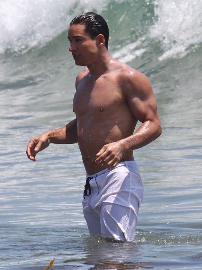 Nude Uncensored Pic Mario Lopez Nude On Beach