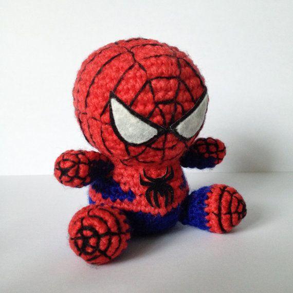 SPIDERMAN Amigurumi Pattern SuperHero Spider Marvel Easy DIY PDF ...