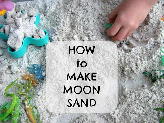 how to make moon sand youtube