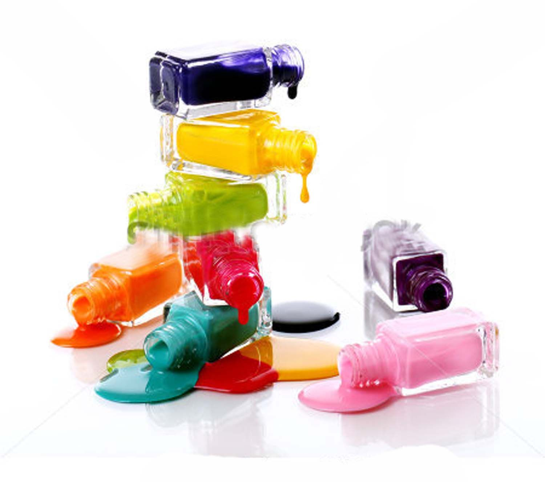 Bottle of spilled nail polish | cover girl | Pinterest