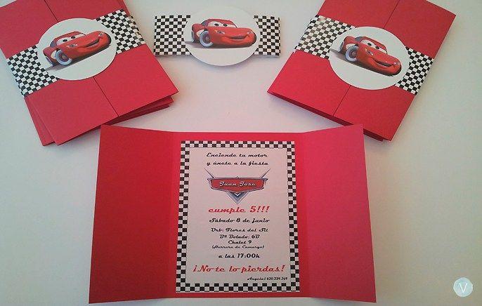 Cars Cumpleaños Cars Tarjetas De Cumpleaños Cars Y Cumpleaños
