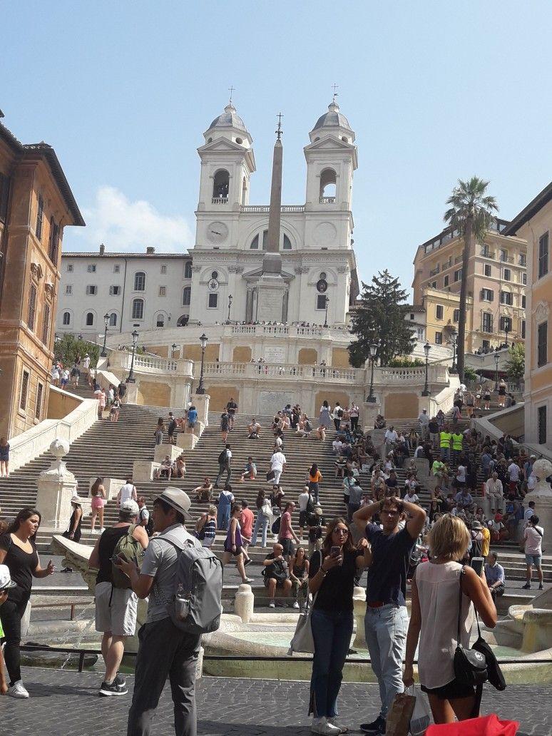 Piazza Di Spagna Roma Viaggi Roma Spagna