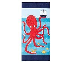 Classic Shark Kid Beach Towel Kids Beach Towels Pottery