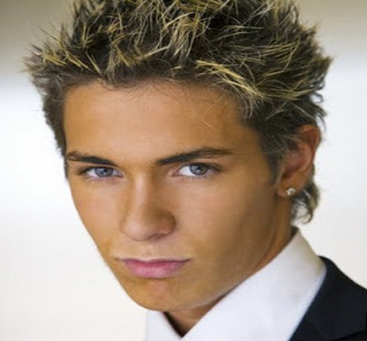 Wedding Hairstyle For Man: Spiked Up Wedding Hair Style For Men