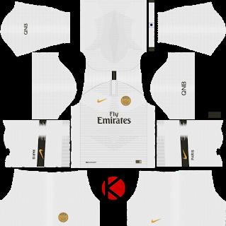 Psg 2019 2020 Kit Logo Dream League Soccer In 2020 Psg Soccer Kits Soccer