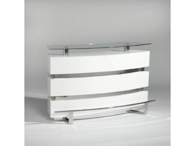 Contemporary Glass Bar Top