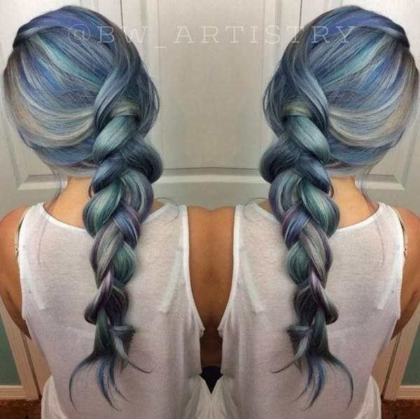 Coloration Blue jeans © DR Cheveux, Couleur cheveux et