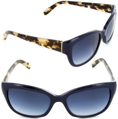 e8be294a06d Kate Spade Women s Johanna S FX8 OS Black Navy Gold Fashion Sunglasses 53mm