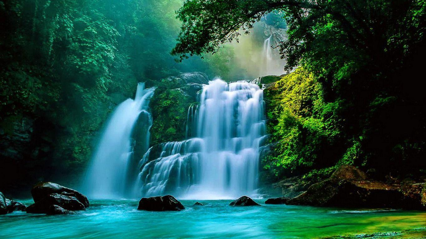 D Beautiful Waterfall Wallpapers 16001200 Waterfall Wallpaper 39