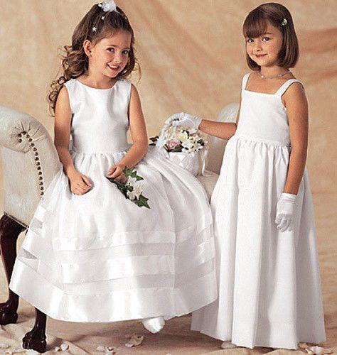 SEWING PATTERN! MAKES FLOWER GIRL DRESS~BOLERO! TODDLER~CHILD SIZES 2 TO 8!  | eBay #confirmationdresses