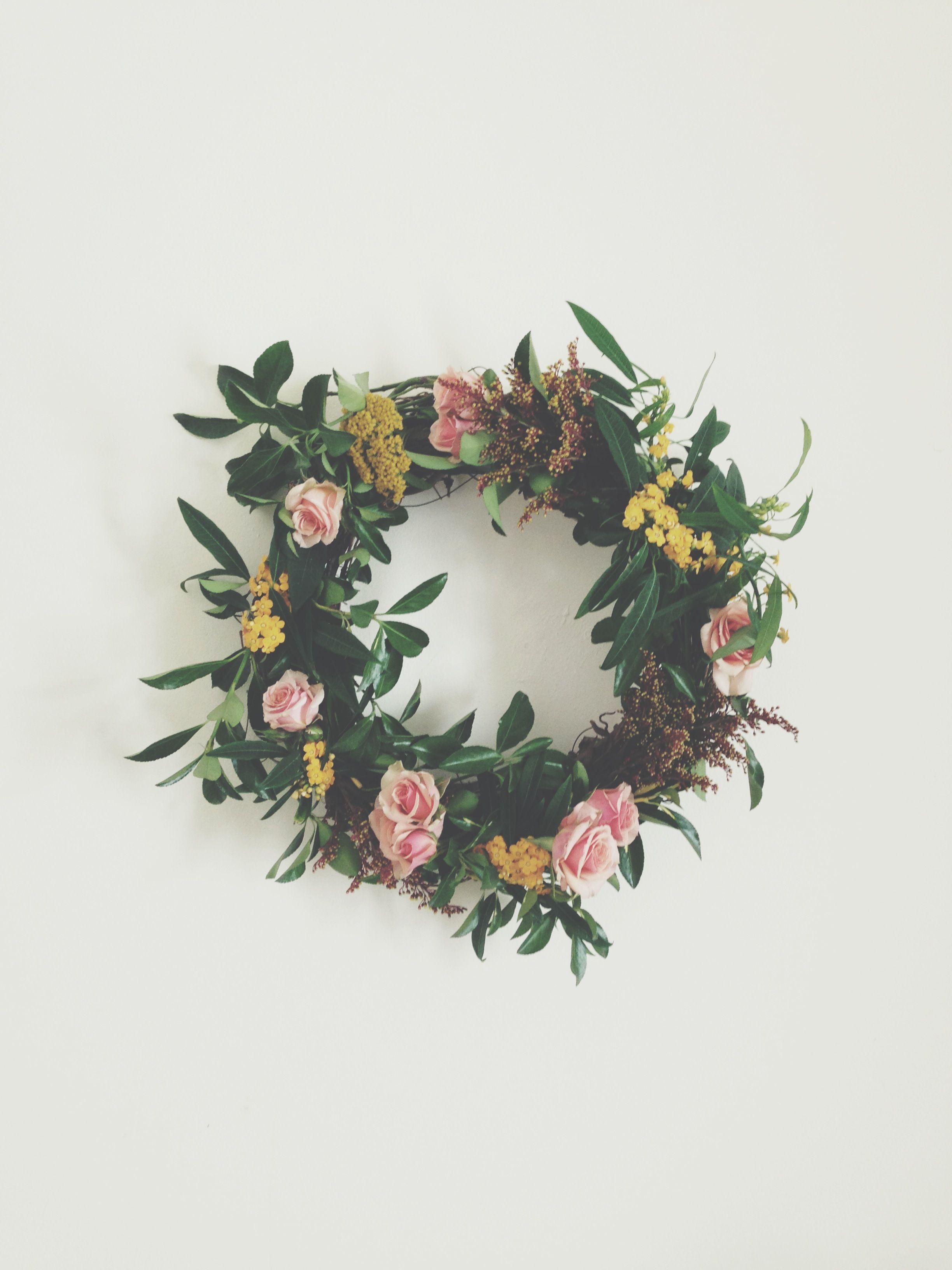 Wild Folk wreath.