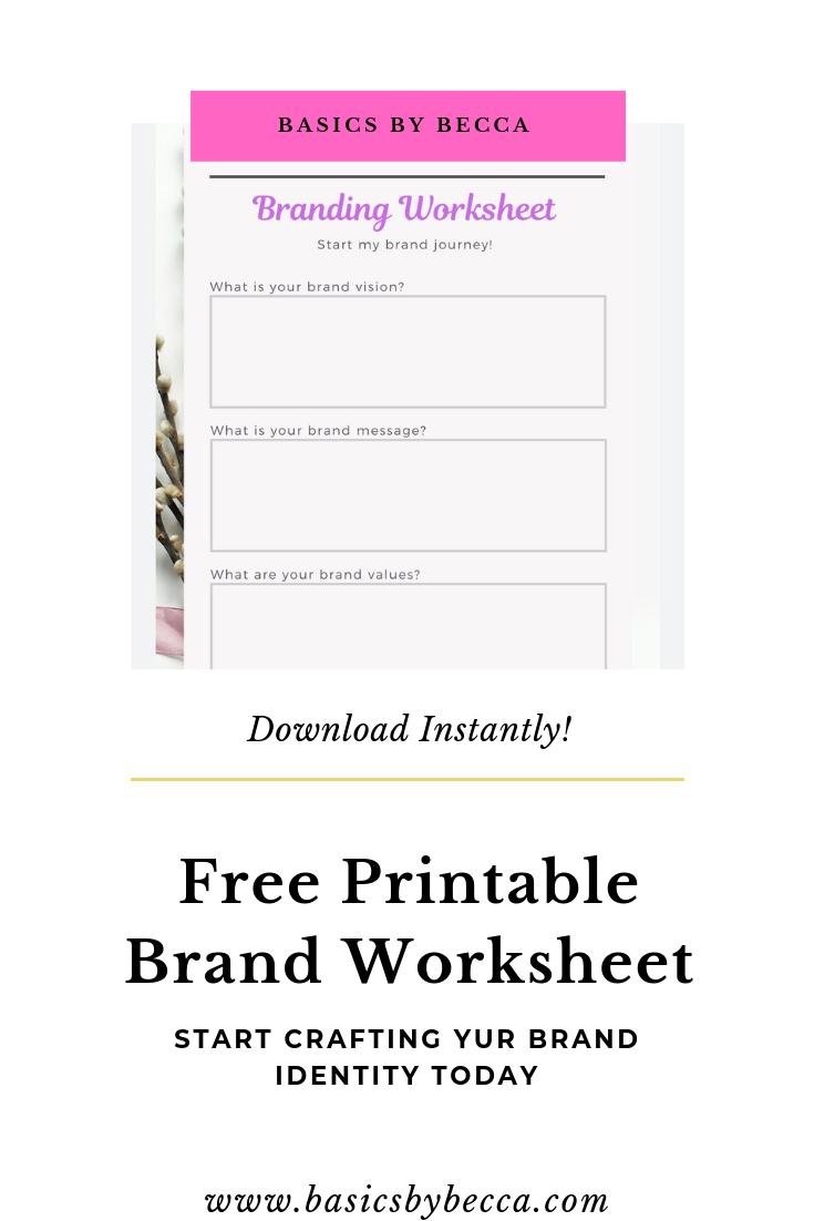 Design Your Personal Brand Identity Here Personal Branding Identity Social Media Marketing Instagram Pinterest Social Media Marketing