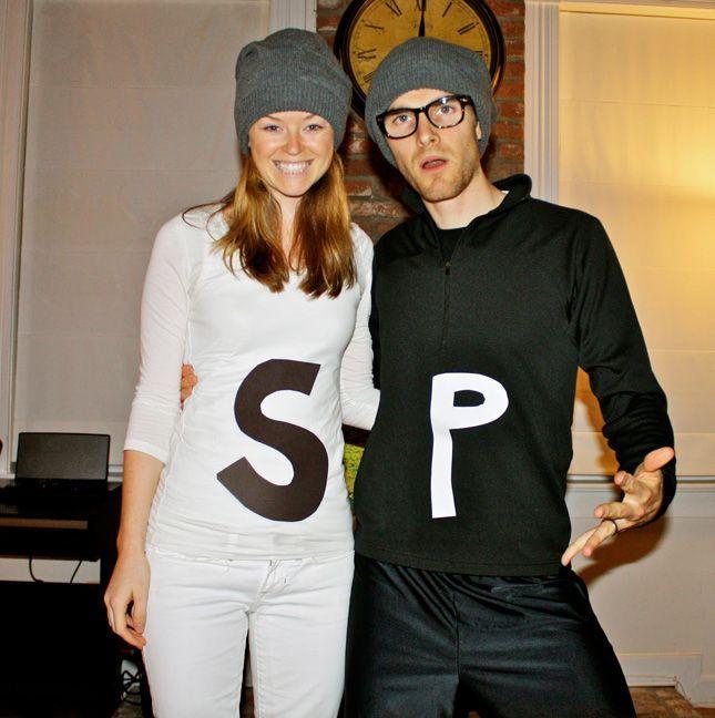 //halloweencostumesidea.info/100-creative-diy-couples-costumes -for-halloween-via-brit-co/  sc 1 st  Pinterest & 100 Creative DIY Couples Costumes for Halloween via Brit + Co ...