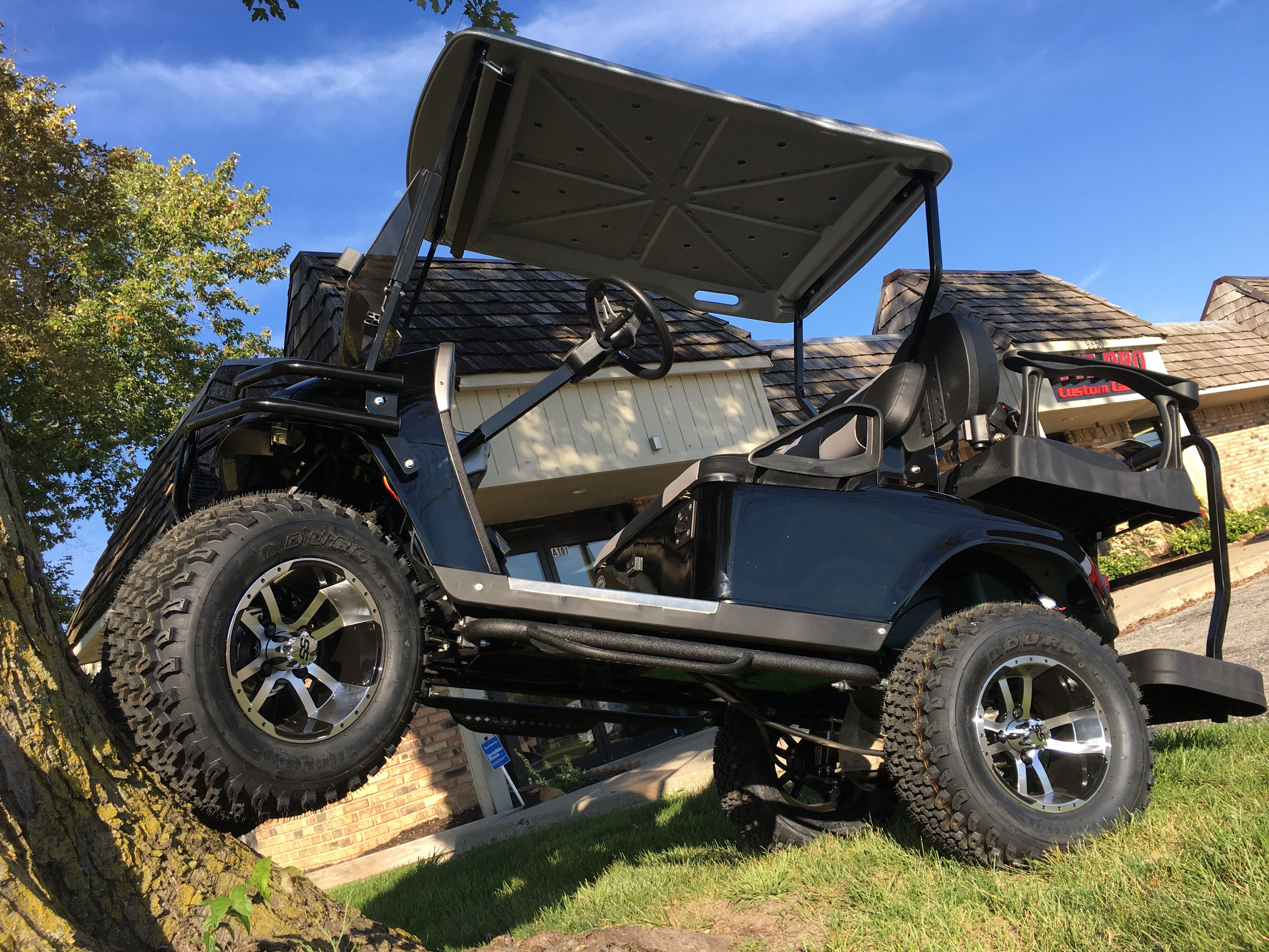 Four Wheel Drive Electric Golf Cart Who Said Electric Golf Carts