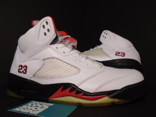 98e226e4b0ae 08 NIKE AIR JORDAN V 5 Retro COUNTDOWN CDP WHITE BLACK FIRE RED OG 136027- 163 9