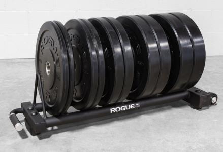Rogue Horizontal Plate Rack 2.0 - Bumper Storage | Rogue Fitness #plateracks