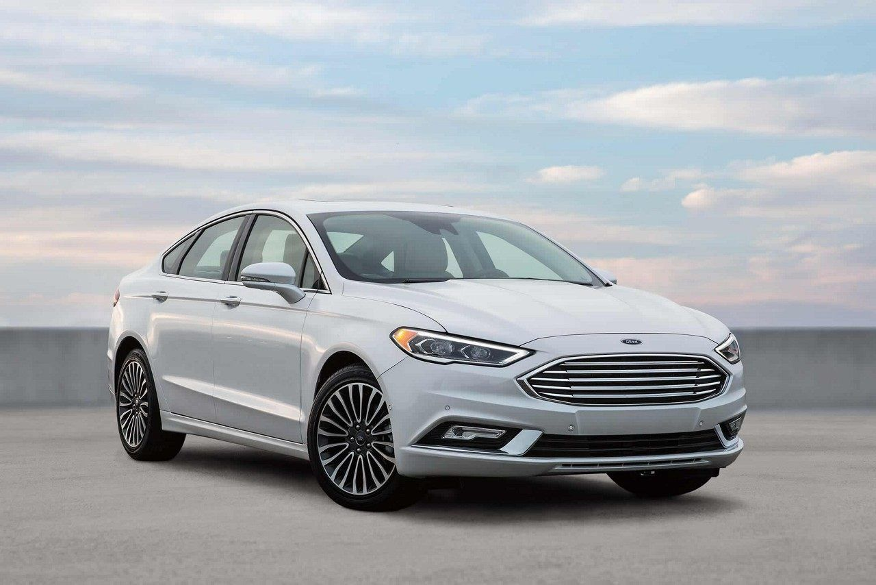 White Ford Fusion >> 2018 Fusion In Oxford White Ford Fusion Ford Fusion