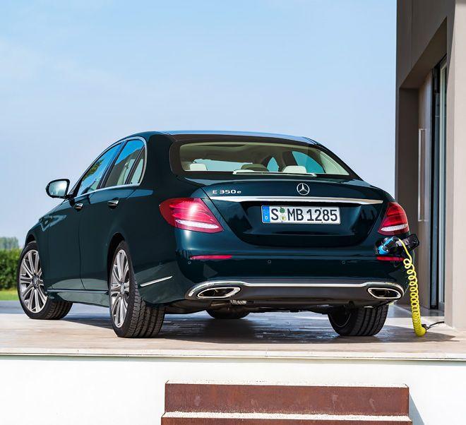 The New Mercedes-Benz E 350 E With Hybrid Technology, Seen