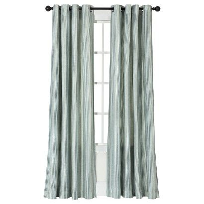 Threshold Strie Vertical Stripe Curtain Panel Window Panels