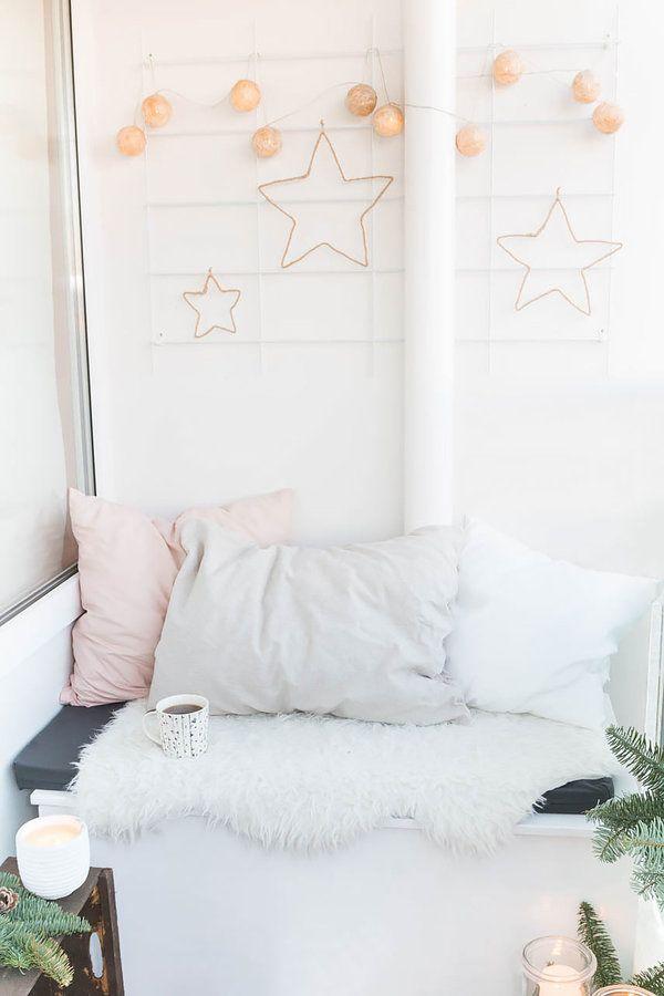 Balkondeko für Weihnachten | Balkon und Garten Ideen | Pinterest ...
