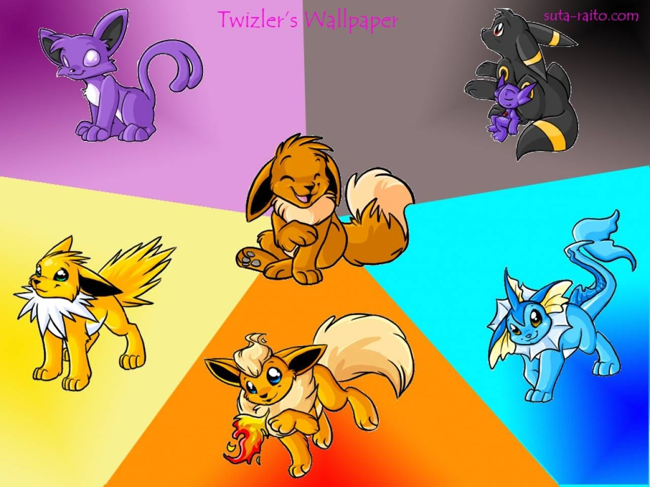 Eevee images Eevee Evolutions HD wallpaper and background