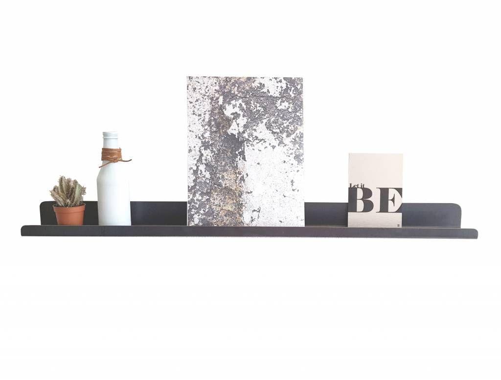 Fotoplank Wit 150 Cm.Stoer Metaal Ijzeren Wandplank 80 Of 150 Cm Hal Pinterest