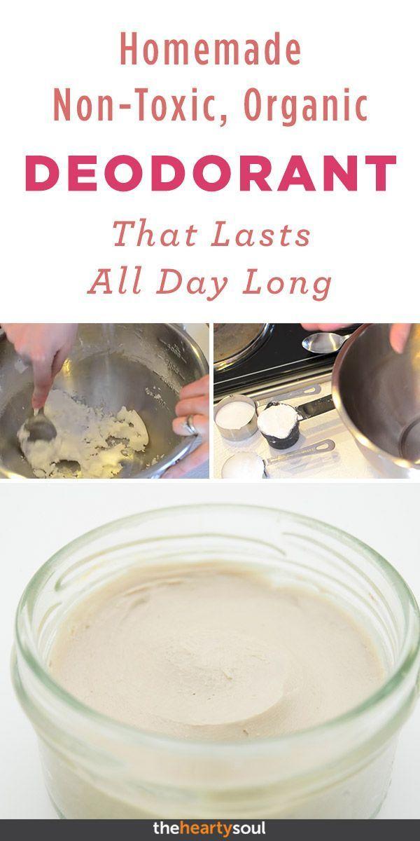 Wie man ein ungiftiges organisches Deodorant herstellt das den ganzen Tag andau