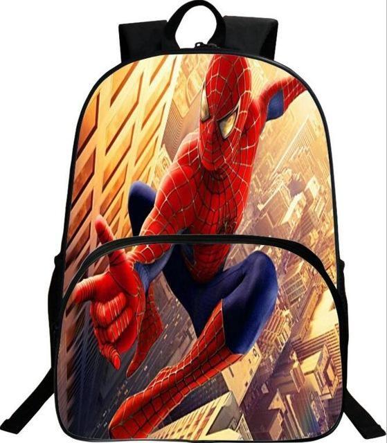 32cb86f6c6 Hot Spiderman Backpack Kids School Bags For Boys Daily Backpacks Children  Backpack Hero Spiderman Bookbag Schoolbags Best Gift