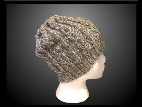 Slouchy Hat Pattern Easy Step By Step Video Instructions Great