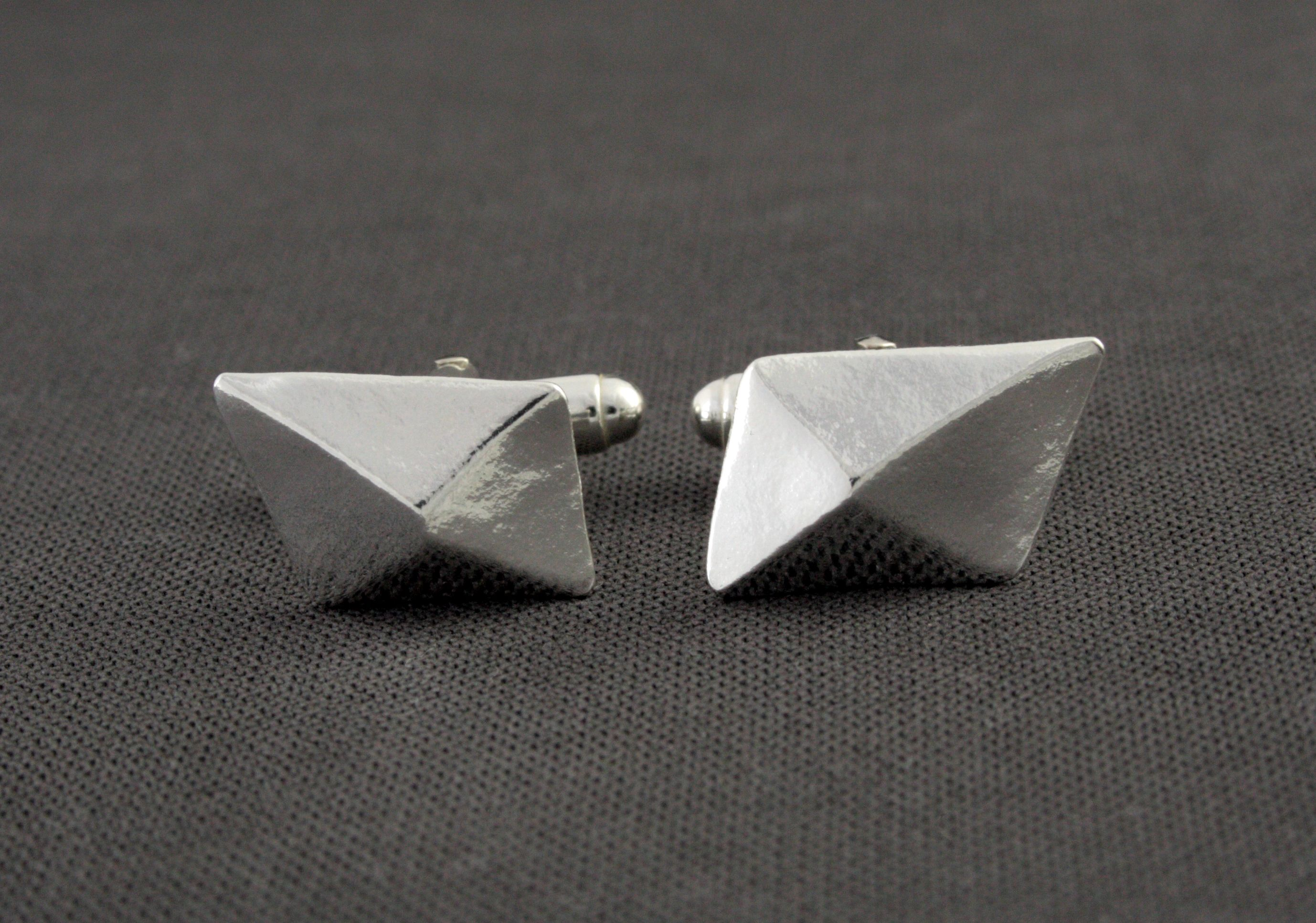 concrete architecture black earrings product fashion view in gray