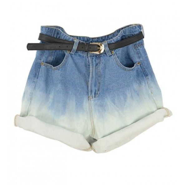 SHORTS (49 BRL) ❤ liked on Polyvore featuring shorts, bottoms, stylemoi, high-waisted shorts, high rise shorts, highwaist shorts, leather shorts and high-rise shorts