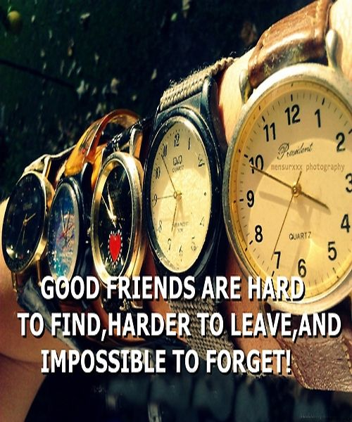 good friends are hard to find. friendship quotes