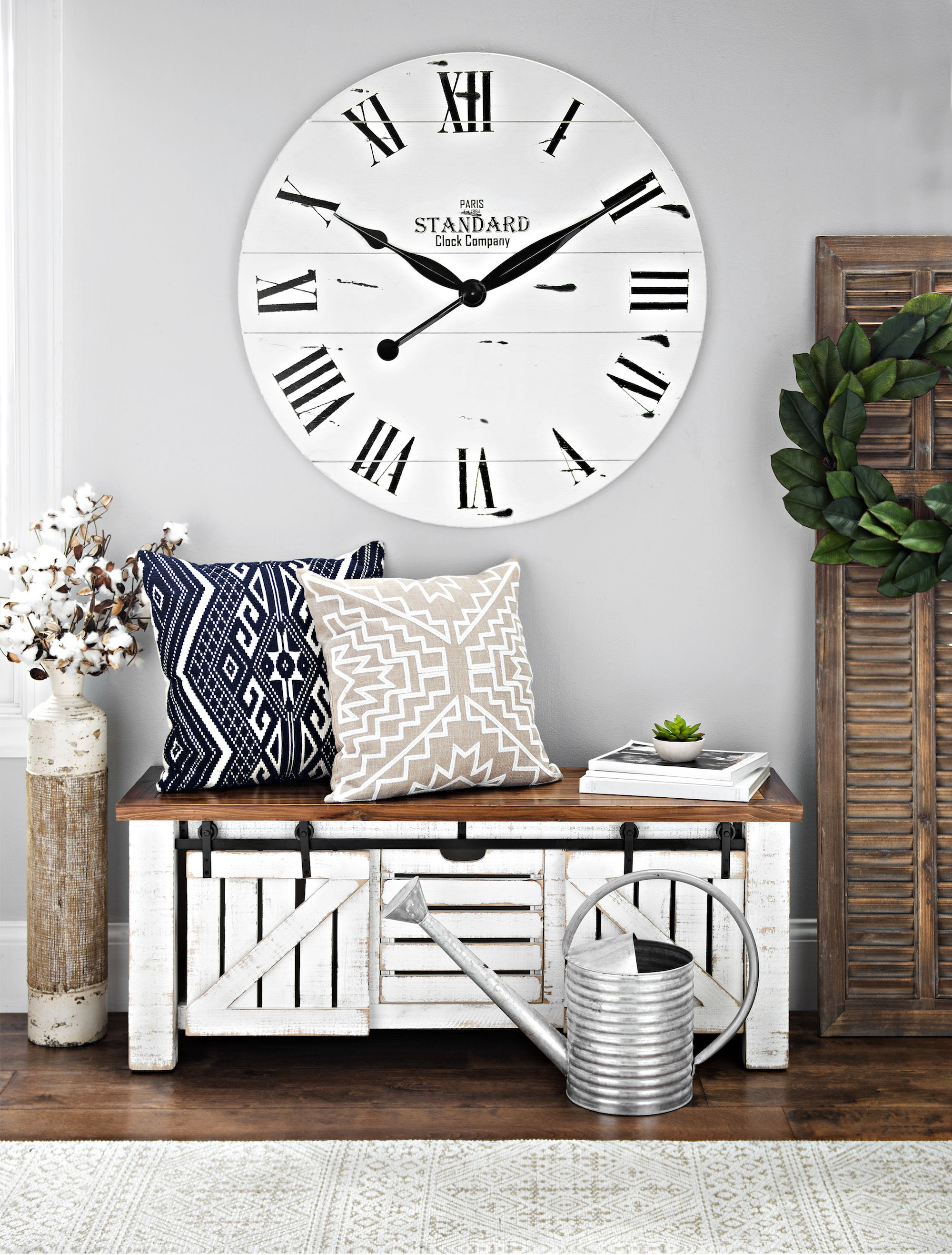 Prime Farmhouse White Sliding Storage Bench In 2019 Bench Decor Gmtry Best Dining Table And Chair Ideas Images Gmtryco