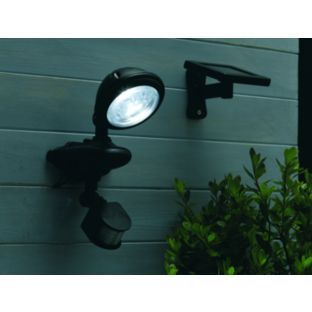 Buy solar solo security led light black at argos your buy solar solo security led light black at argos your aloadofball Image collections