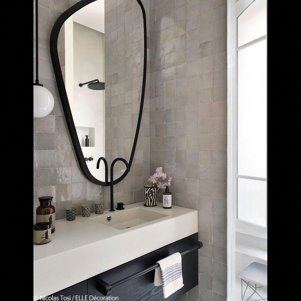Salle De Bains Parentale En Zelliges Bathroommirror Arredamento