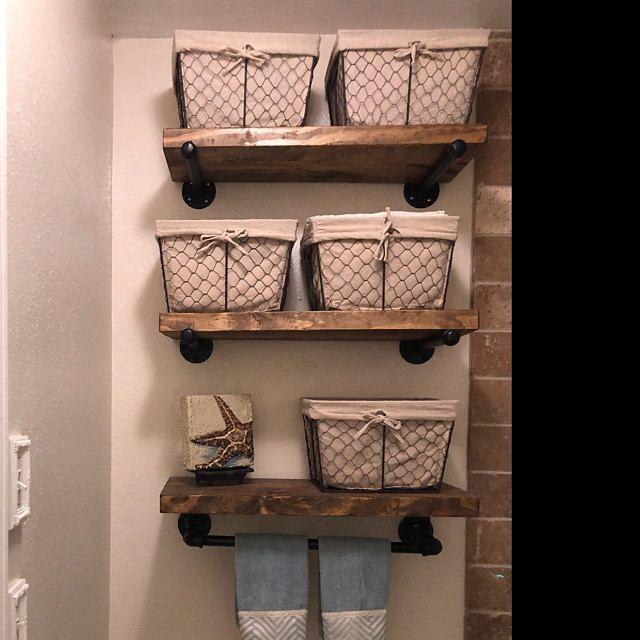 Best 3 Shelves 7 1 4 Or 9 1 4 Deep Farmhouse Floating Shelves 640 x 480