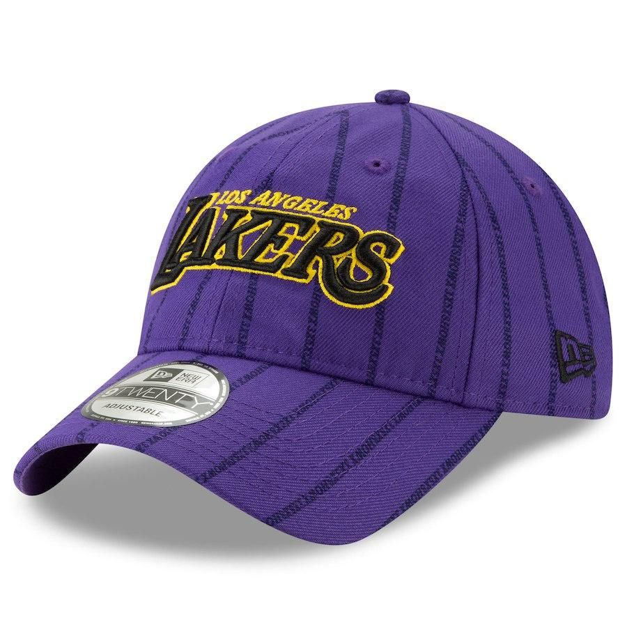 Los Angeles Lakers NBA18 City Series 9TWENTY Adjustable Hat By New ... bf06f38a0abf