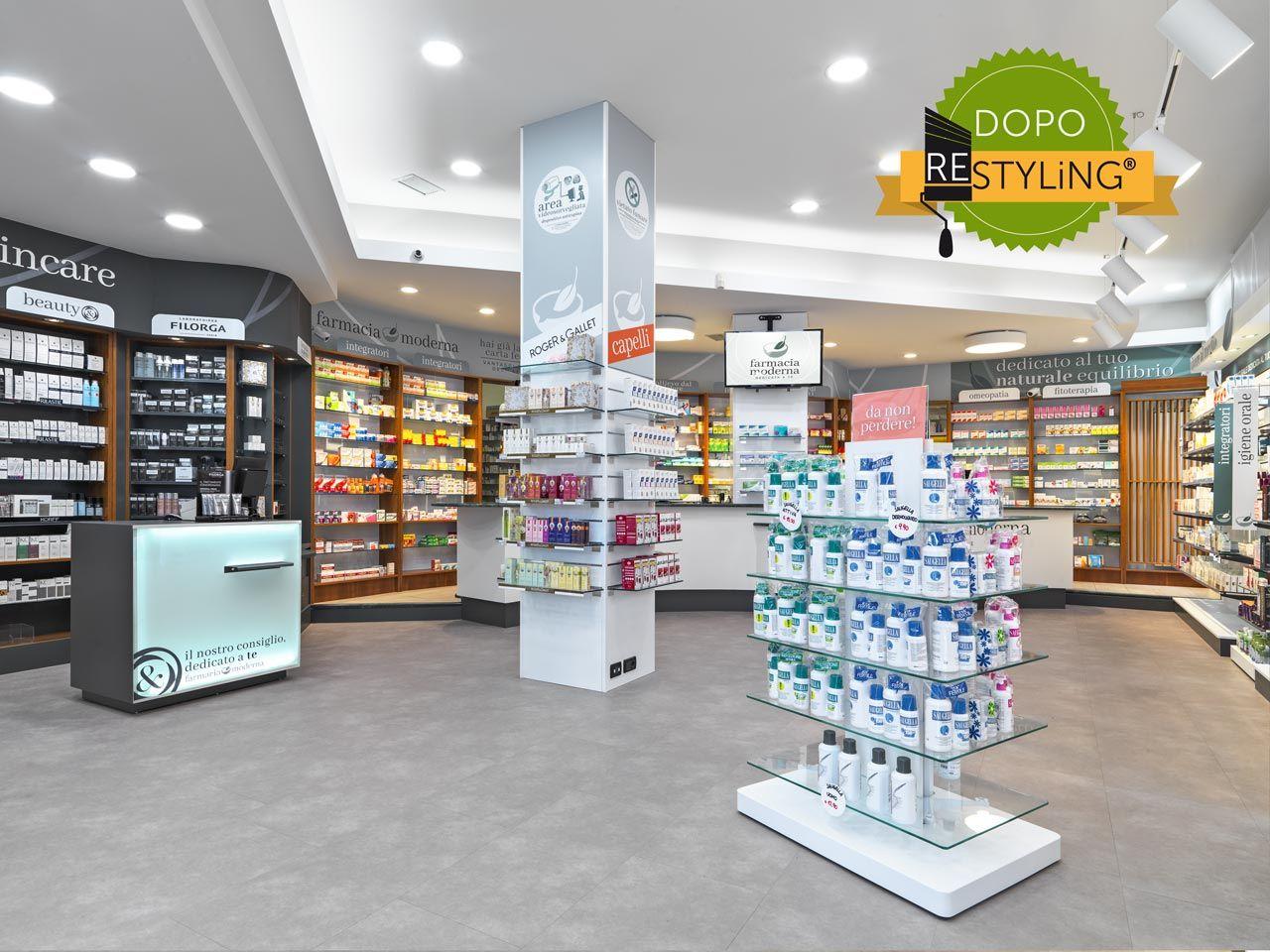 Farmacia Moderna Torino Aspetto Rivoluzionato Senza Cambiare Gli  # Kohl Muebles Farmacia