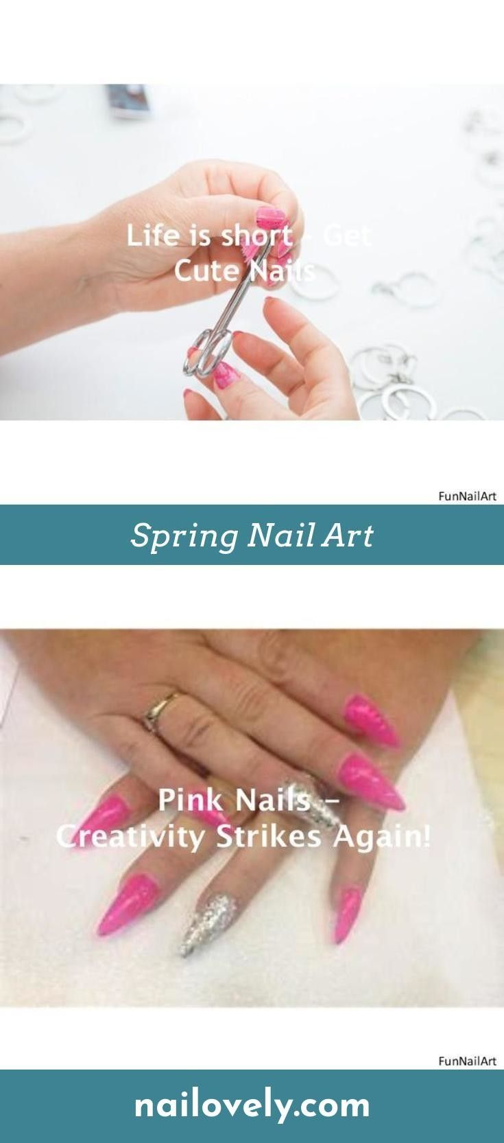 Valentines Nail Designs French Nails Tips Pinterest Shapes And