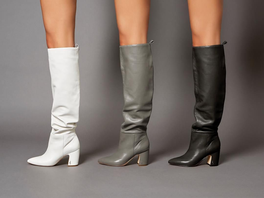 6f8986a6317 Sam Edelman Kick Off The Weekend In Our Favorite To The Knee Boot- Hutton -  Stylst