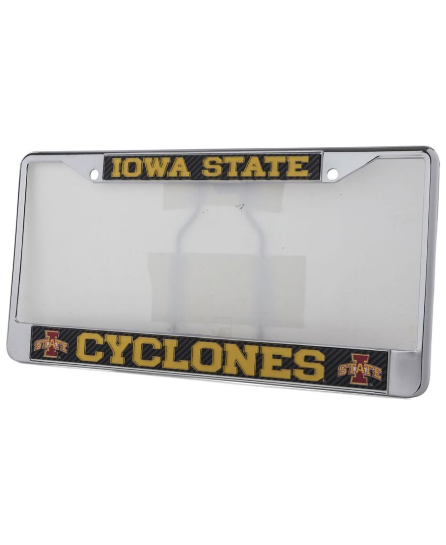 Stockdale Iowa State Cyclones Carbon License Plate Frame | Products ...