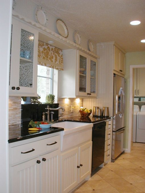 Remodel Galley Kitchen Design Ideas 1968 Used Existing Cabinets When Possible But