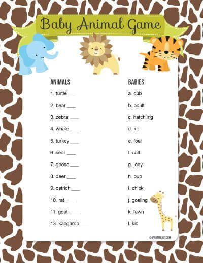 Jungle Safari Baby Shower It S My Party Baby Shower Fun Baby