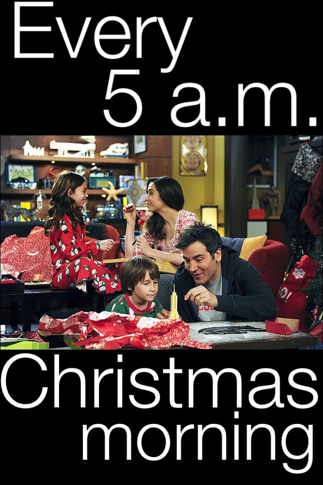 The Mosby family HIMYM